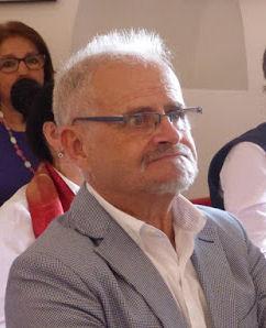 Félix Sánchez Coronil, distinguido como docente de la Escuela de Artesanos (Foto: Paco Solano).