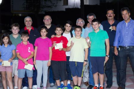 Premiados en el Torneo de Ajedrez de Verano.