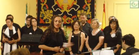 Patricia, en la interpretación de 'Ojos verdes'.