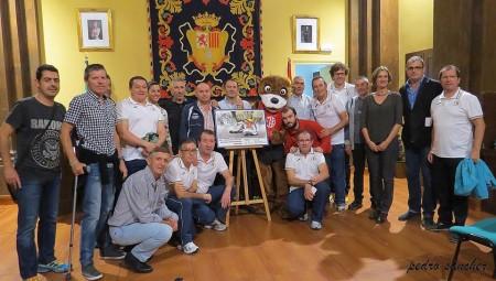 Participantes en la presentación de la carrera de Nutrias Pantaneras (Foto: Pedro Sánchez)