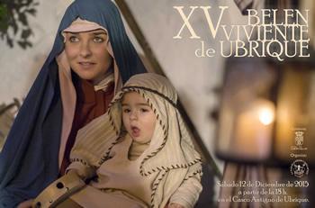 Cartel del Belén Viviente.