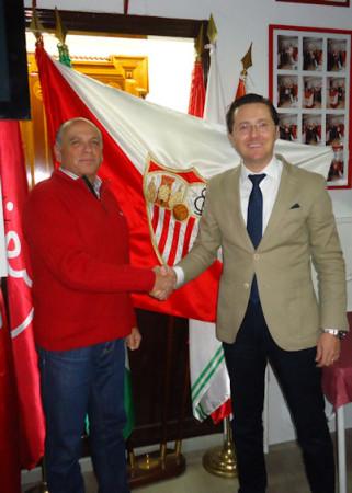 Relevo en la presidencia de la Peña Sevillista.