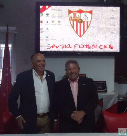 Manuel Sígler y Enrique Lora.