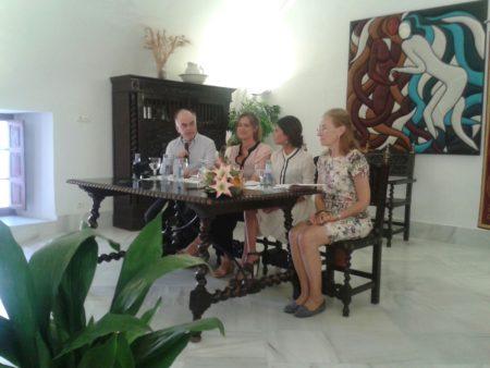 Participantes en la presentación (Foto: Paco Solano).