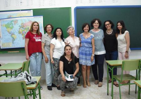 Participantes en la clausura del curso.