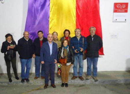 Asistentes de Ubrique a la inauguración de la Casa de la Memoria.