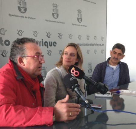 Los alcaldes de Ubrique, Cortes y Gaucín.