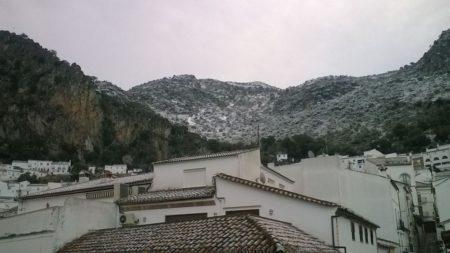 Montaña nevada.