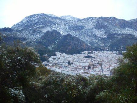 Vista general de Ubrique el jueves 19 de enero de 2017 (Foto: Pedro Bohórquez).