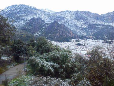 Vista parcial de Ubrique el 19 de enero de 2017 (Foto: Pedro Bohórquez).