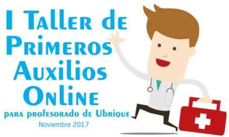 Taller de Primeros Auxilios online para profesorado del 6 al 30 de noviembre de 2017