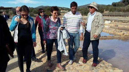 Visita guiada a las Salinas de Hortales.