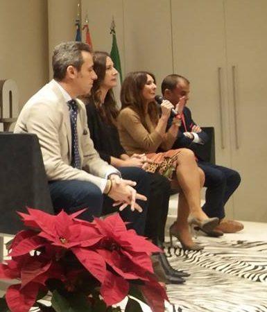 La delegada territorial de Economía, Innovación, Ciencia y Empleo de la Junta de Andalucía, Gema Pérez Lozano, durante su intervención.