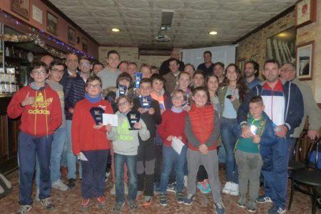 Antonio Medina gana el Torneo de Ajedrez de Navidad 'Bar La Estación'