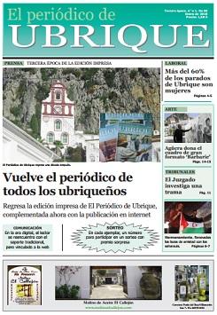 En preparación el nº 70 de 'El Periódico de Ubrique' en papel