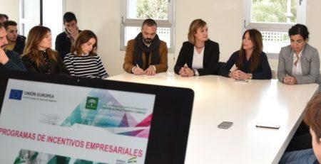 Reunión informativa de las ayudas a empresas convocadas por la agencia Idea de la Junta