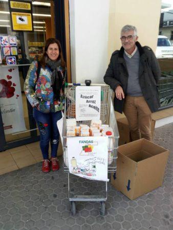 Recogidos más de 600 kilos de alimentos para los saharauis refugiados