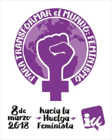 Reunión el 22 de febrero en el colegio Reina Sofía para acordar acciones de cara al 8 de marzo, día de la mujer trabajadora