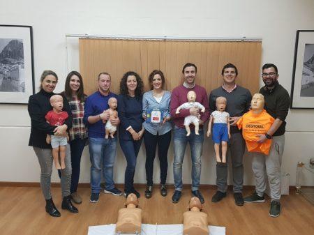 Curso en la empresa Cache dentro del proyecto 'Ubrique, municipio cardioprotegido'