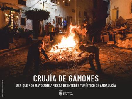 El sábado 5 de mayo, fiesta de la crujida de gamones, con 22 candelas