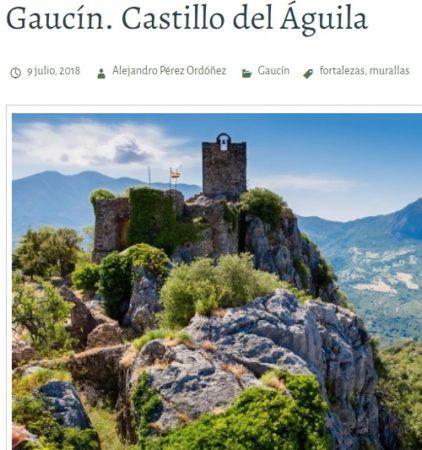 Artículo de Alejandro Pérez Ordóñez sobre el castillo de Gaucín, que tuvo como propietario en el siglo XIX a un cura de Ubrique