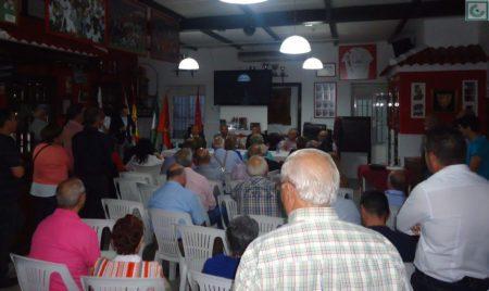 Público asistente a una de las actividades de la Peña Sevillista.