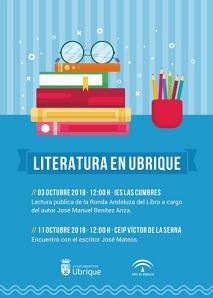 Encuentro con el escritor jerezano José Mateos el jueves 11 de octubre en el colegio Víctor de la Serna