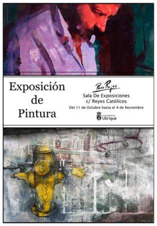 Muestra de pintura de Paco Rojas hasta el 4 de noviembre en la sala de exposiciones del antiguo mercado de abastos