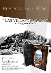 El arqueólogo Luis Iglesias presenta su libro 'Las villas perdidas' el 26 de octubre