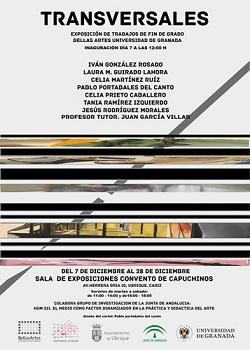 Exposición de trabajos de fin de grado de alumnos de Bellas Artes de la Universidad de Granada, en el antiguo Convento de Capuchinos