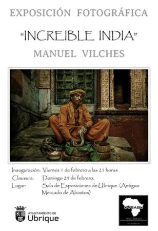 Increíble India: muestra de fotografías de Manuel Vilches en la sala de exposiciones del antiguo mercado de abastos