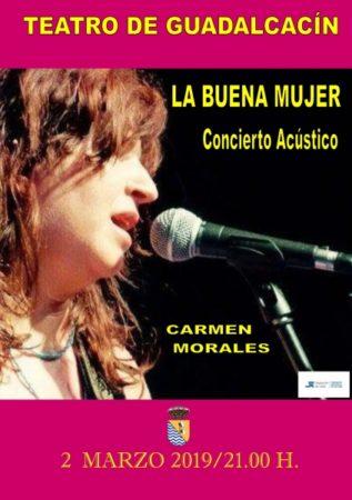 Concierto de La Buena Mujer en el Teatro de Gaudalcacín el sábado 2 de marzo