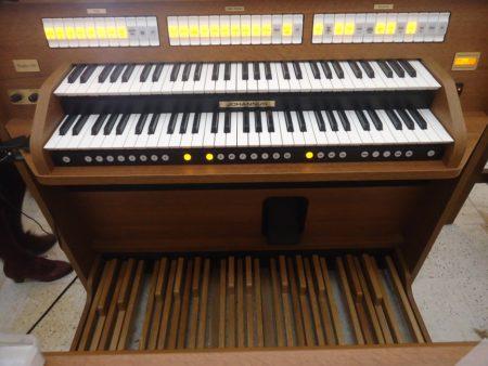 Nuevo órgano de la parroquia.