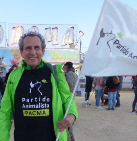 Manolo Cabello, candidato de Pacma.
