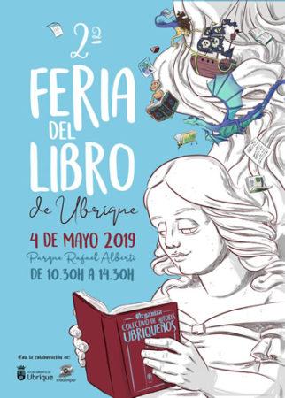 La 2ª Feria del Libro de Ubrique, el sábado 4 de mayo en el Parque Rafael Alberti