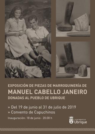 Exposición de artículos de piel de la colección de Manuel Cabello Janeiro, donadas al pueblo, en el Convento hasta el 31 de julio