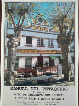 Cartel de la presentación del Manual del Petaquero.