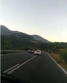 Detenido un conductor por conducción temeraria en la carretera A-373, en las proximidades de Ubrique