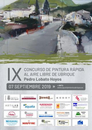 El IX Concurso de Pintura Rápida al Aire Libre de Ubrique 'Pedro Lobato Hoyos', el sábado 7 de septiembre en el casco antiguo