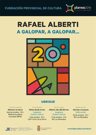 Actividades de fomento de la lectura, música y artes visuales en el 20 aniversario del fallecimiento del poeta Rafael Alberti