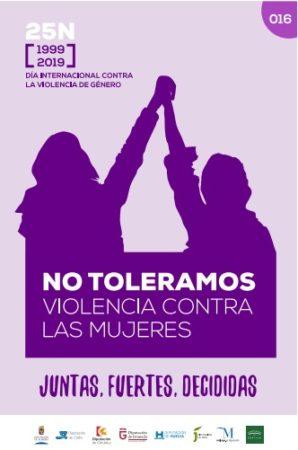'Juntas, fuertes, decididas': actividades con motivo del día internacional contra la violencia contra las mujeres