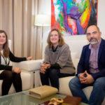 Reunión para estudiar nuevas protecciones para evitar el desprendimiento de rocas en Ubrique