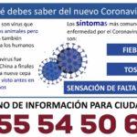 Información sobre el coronavirus COVID-19