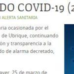 Segundo caso de coronavirus en Ubrique
