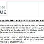 El Ayuntamiento pide a la Junta que intervenga la Residencia y garantice la plantilla necesaria