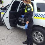 El Ayuntamiento adquiere un cañón de ozono para el interior de los vehículos policiales, de sanitarios, de emergencias y de la empresa de limpieza