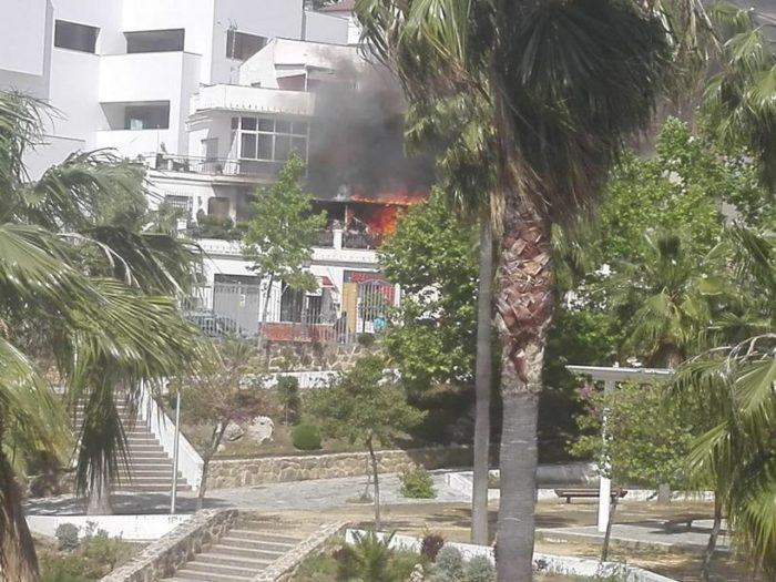 Incendio (Foto: Pedro Bohorquez).