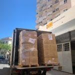 Puntos de distribución de mascarillas del Gobierno central a partir del lunes 4 de mayo en Ubrique: estación de autobuses y autobús urbano