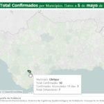 Dos nuevos contagios de covid-19 en las últimas 24 horas en Ubrique, con un total de 50 casos confirmados, según la Junta