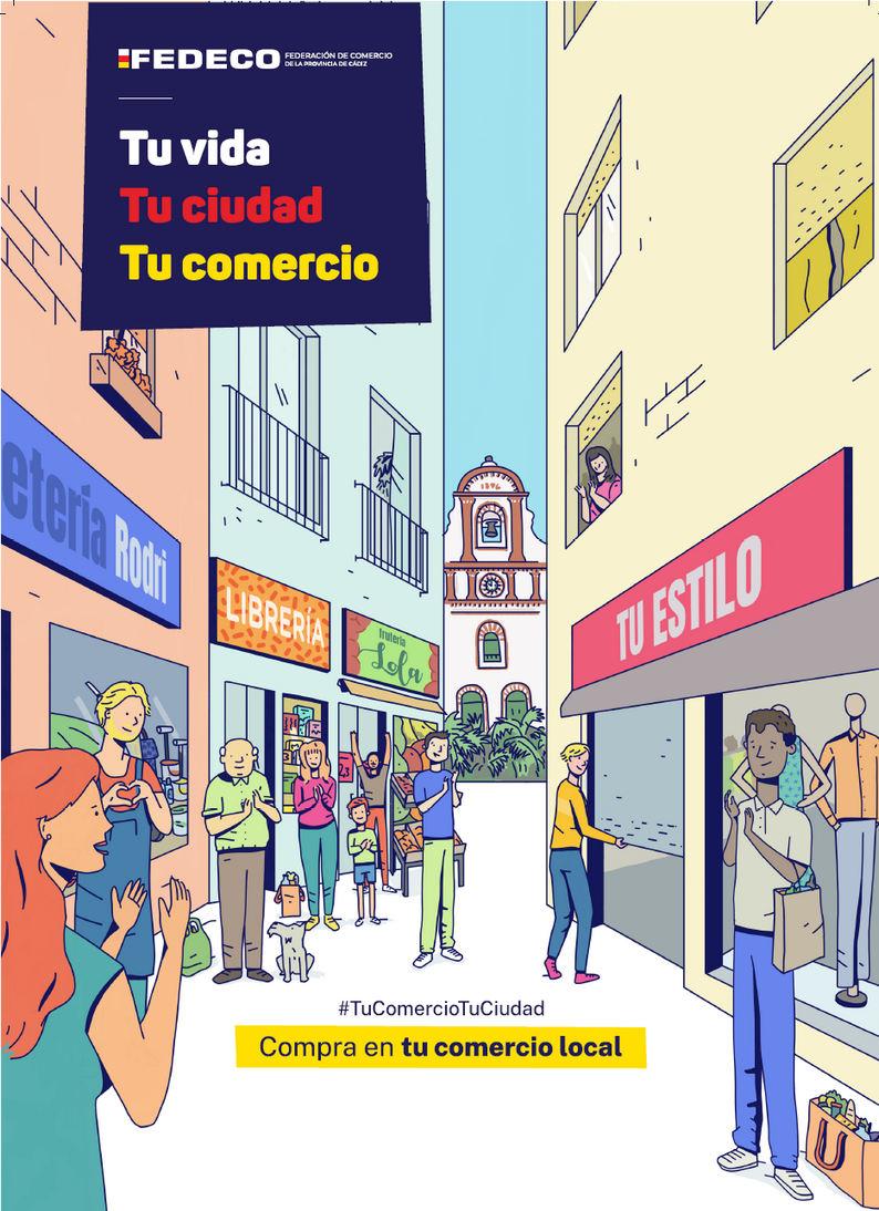 Tu vida, tu ciudad, tu comercio: campaña de apoyo al comercio local